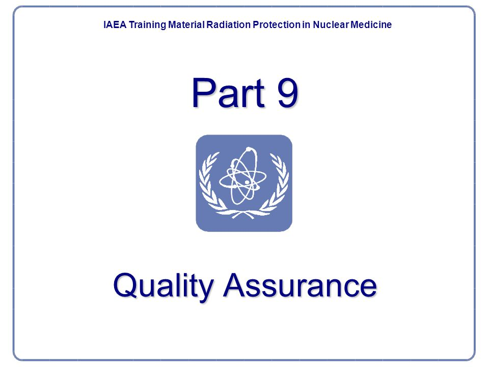 Nuclear Medicine Part 9.Quality Assurance52 Quality control of radiopharmaceuticals.
