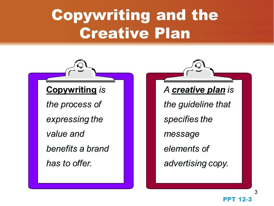 2 PPT 12-22 The Creative Team Creative Team Creative Concept Art Director Copywriter