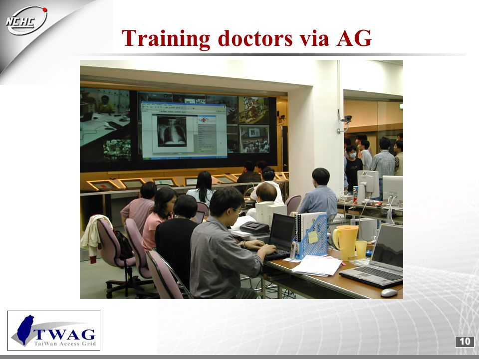 10 Training doctors via AG