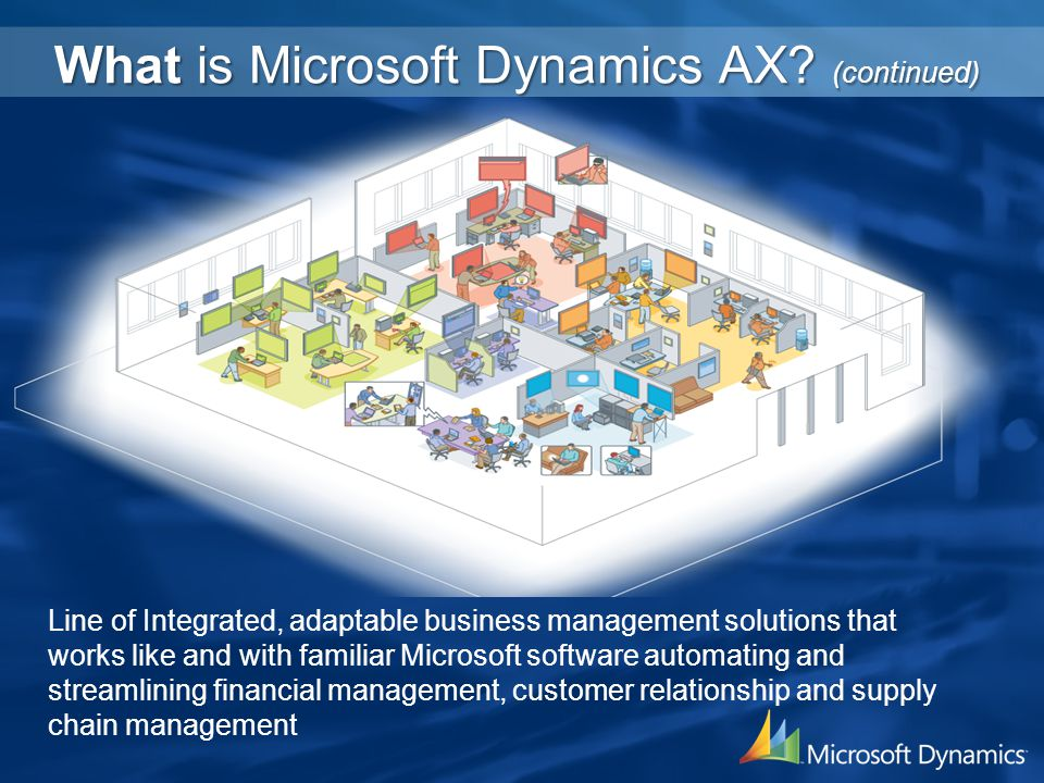 What is Microsoft Dynamics AX.