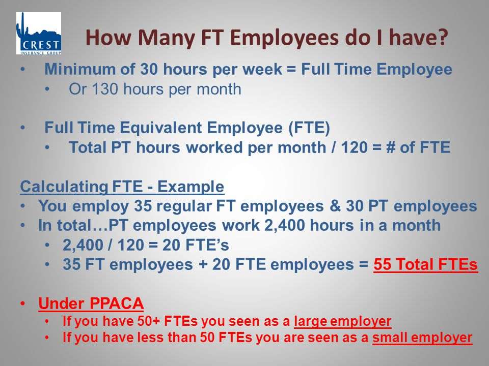 How Many FT Employees do I have.