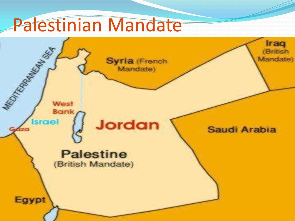 Palestinian Mandate