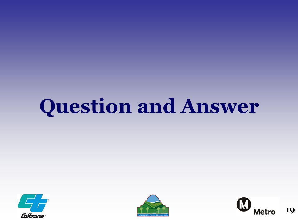 19 Question and Answer
