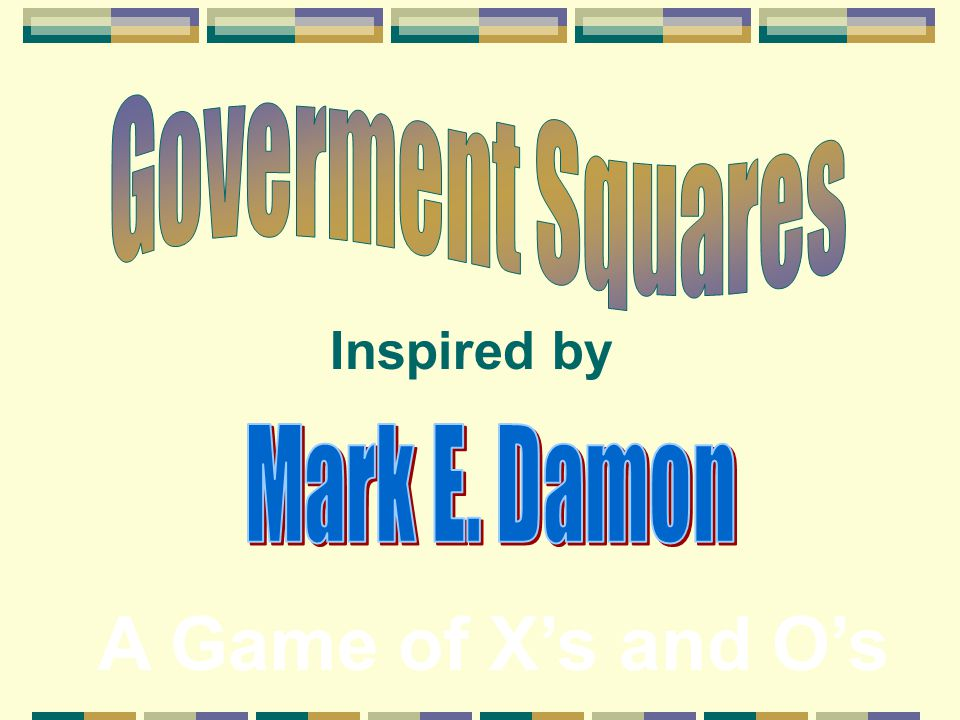 Ready for a quiz? Play Government Squares