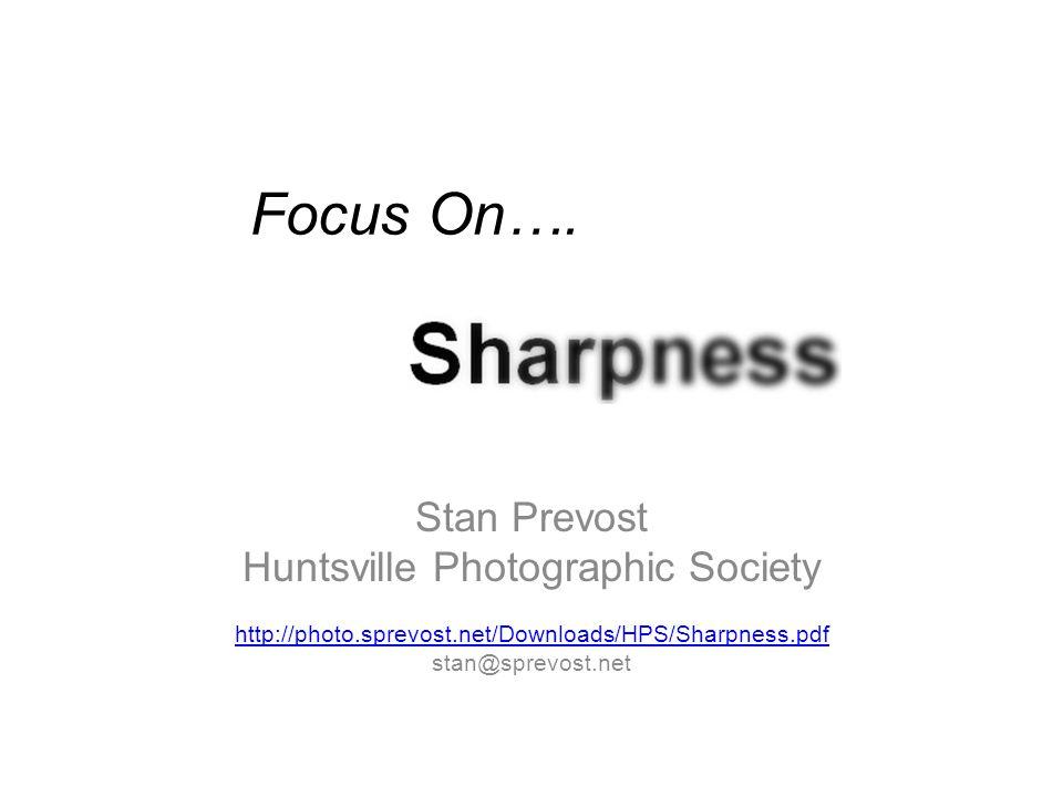 Focus On….