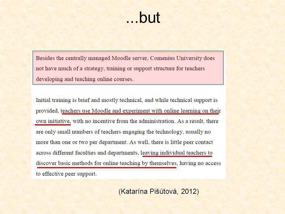 ...but (Katarína Pišútová, 2012)