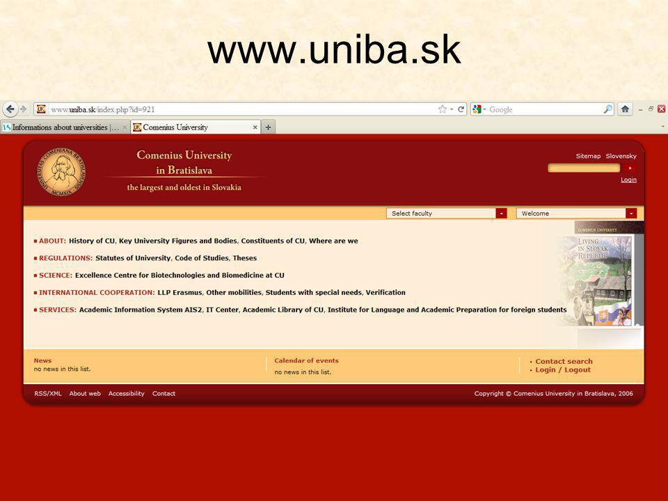 www.uniba.sk