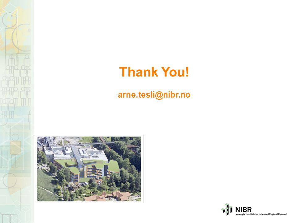 Thank You! arne.tesli@nibr.no