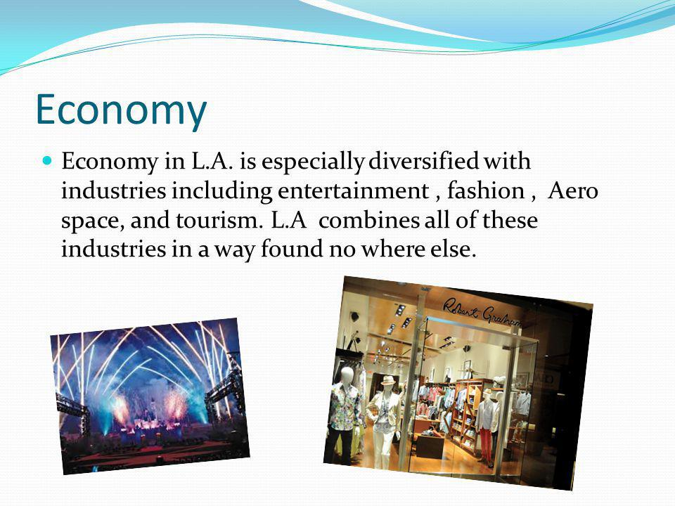Economy Economy in L.A.