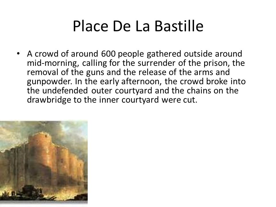 Place De La Bastille Souvenirs of the fortress were transported around France and displayed as icons of the overthrow of despotism.