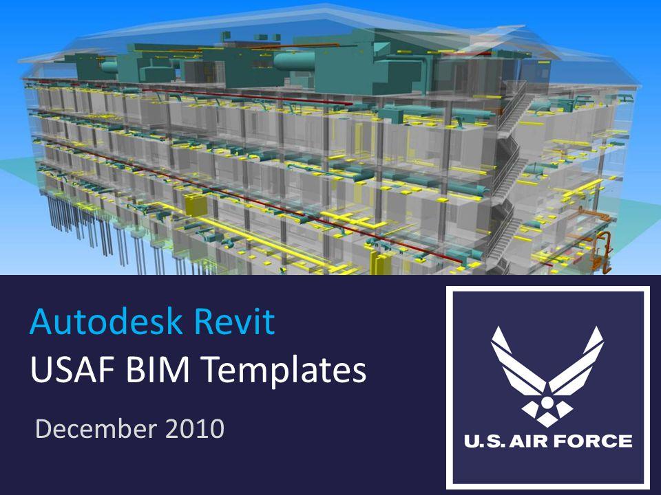 Autodesk Revit USAF BIM Templates December 2010