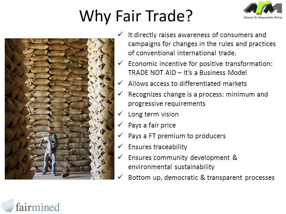 Why Fair Trade.