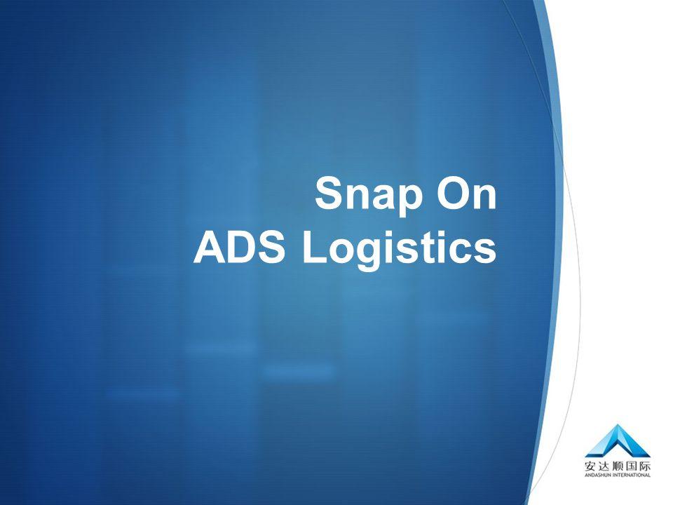  Snap On ADS Logistics