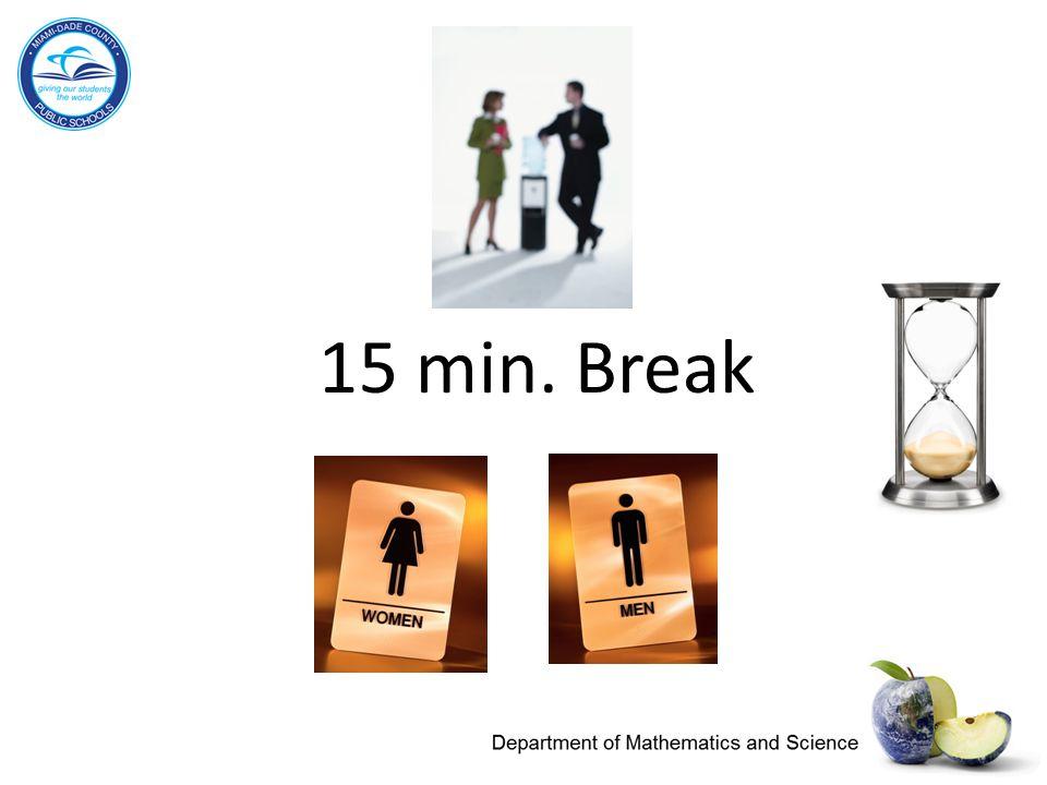 15 min. Break