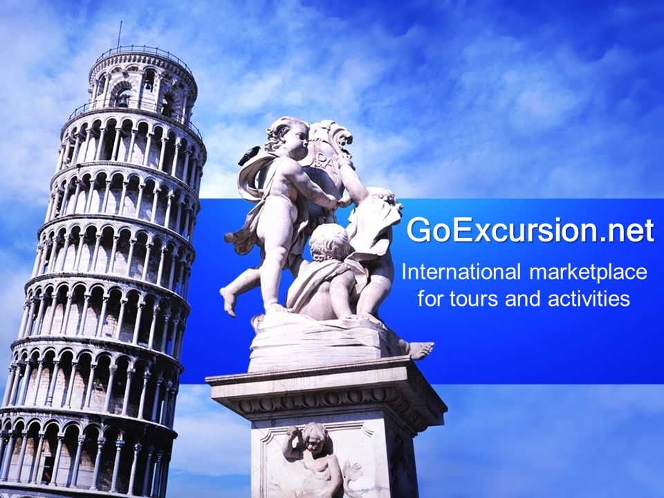 GoExcursion.net International marketplace for tours and activities