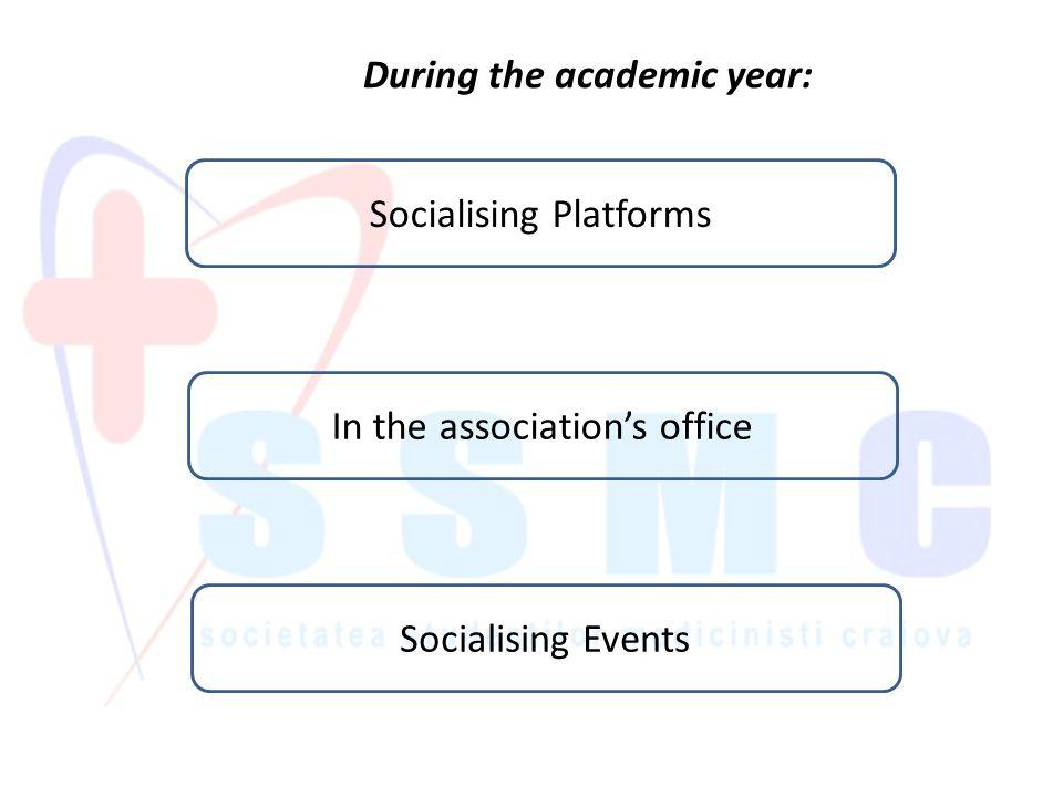 Scholarships and international summer practice exchanges.