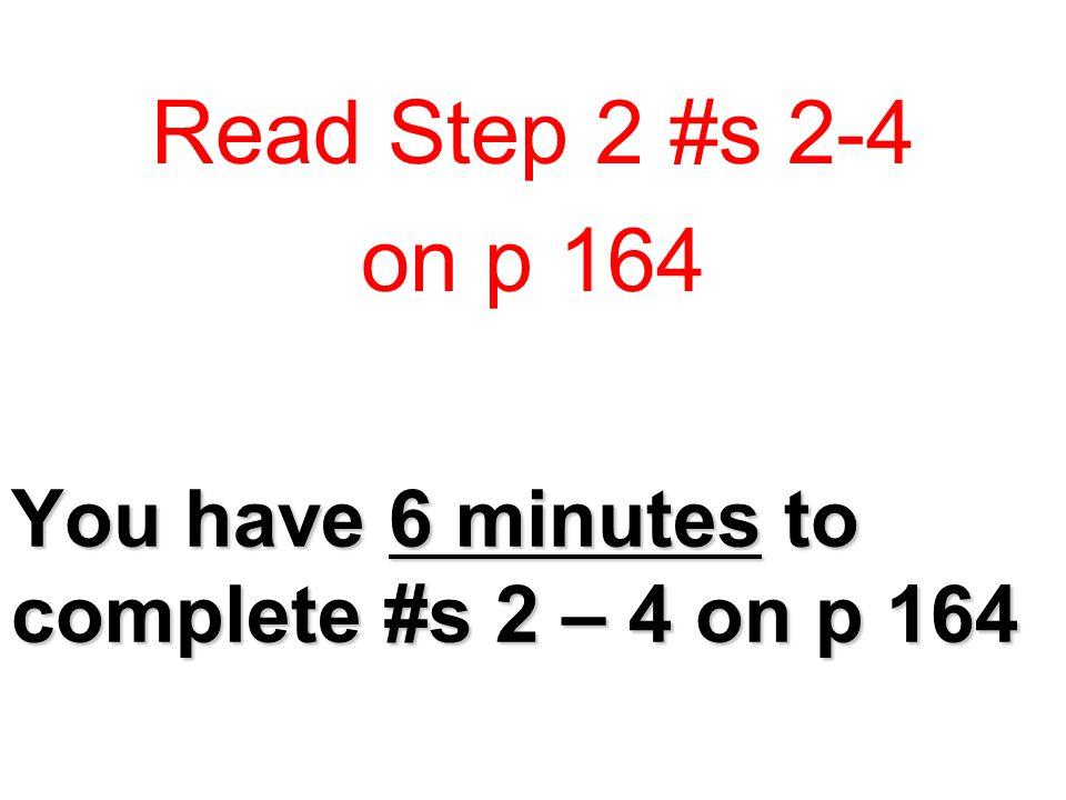 Make Sense of Your Ideas Question 2 2.