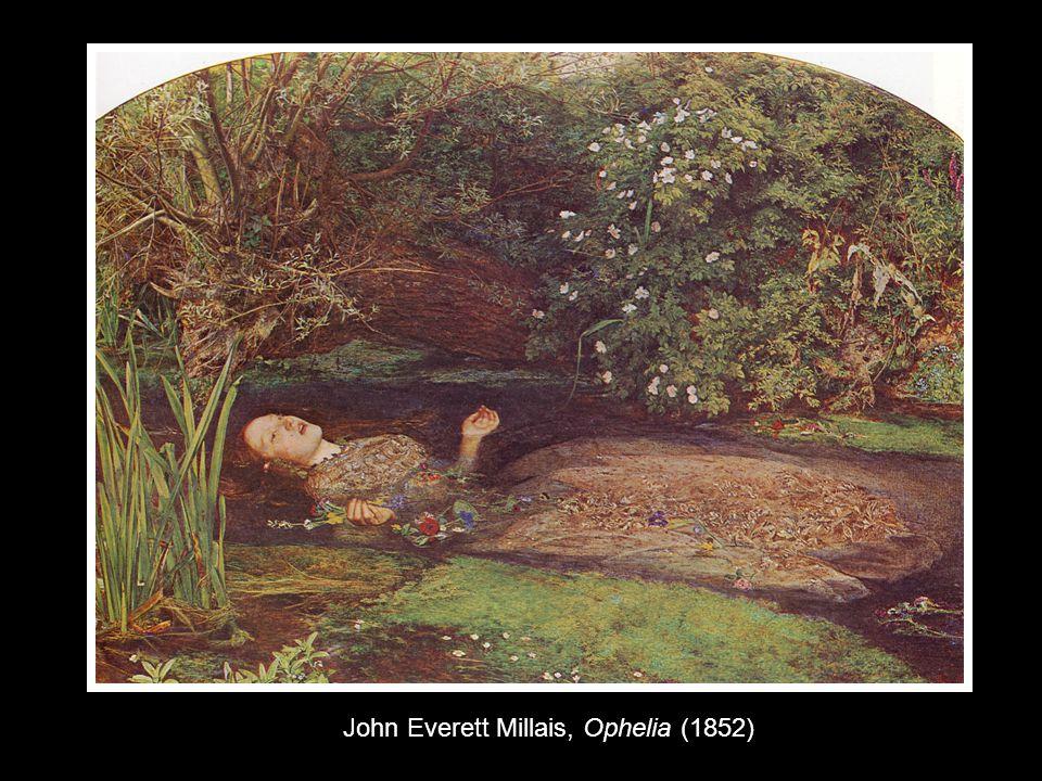 John Everett Millais, Ophelia (1852)