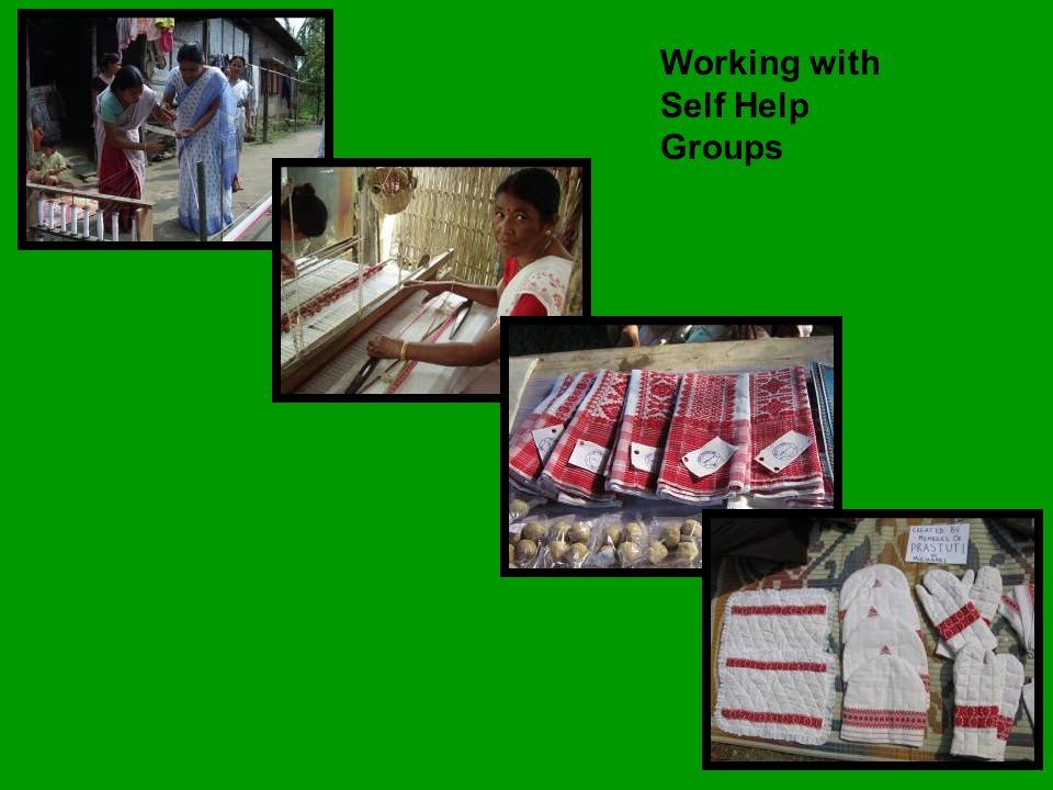 Working with Self Help Groups