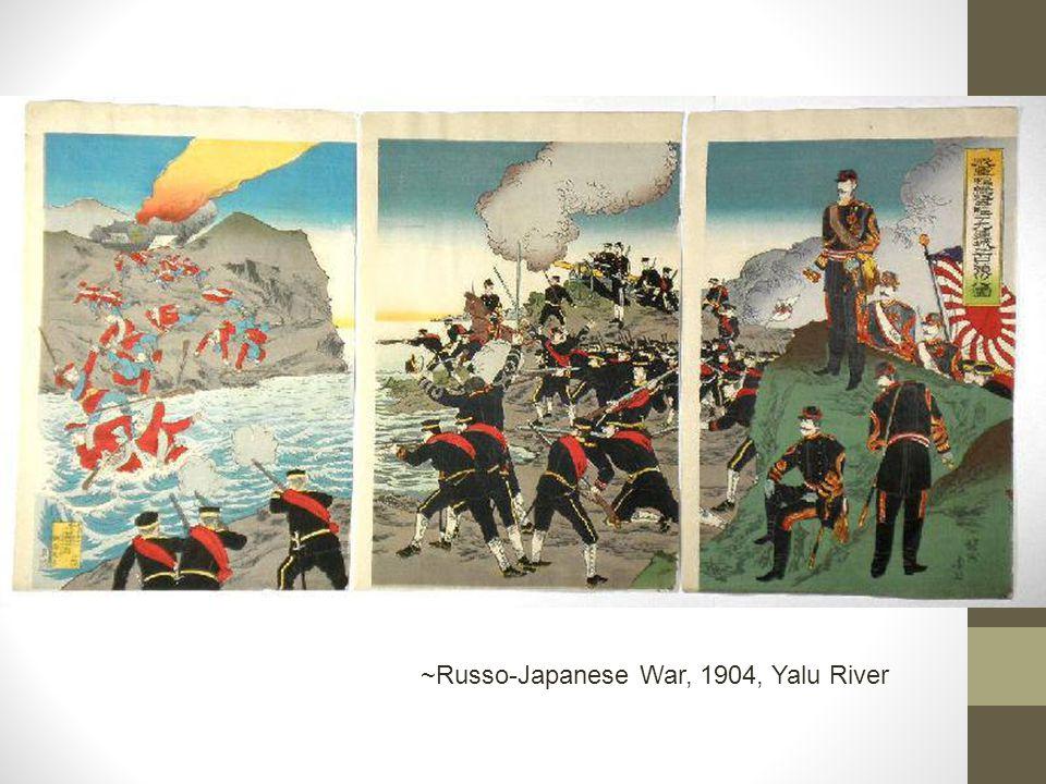 ~Russo-Japanese War, 1904, Yalu River