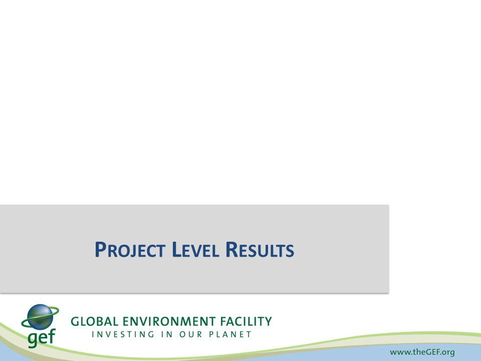 Demonstrates progress made against indicators common to all projects – can also reveal shortcomings Helps to guide and inform project implementation Provides justification for continued investment in each focal area programming To measure progress in achieving the impacts and outcomes established at the portfolio level under each focal area Purpose of the GEF Tracking Tools (why?)