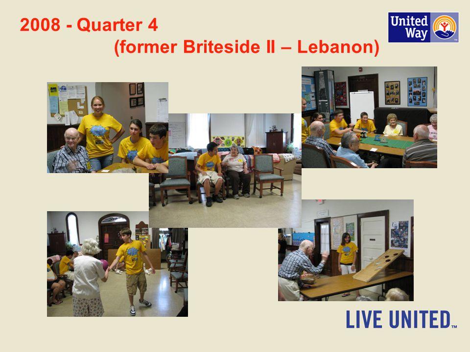 2008 - Quarter 4 (former Briteside II – Lebanon)
