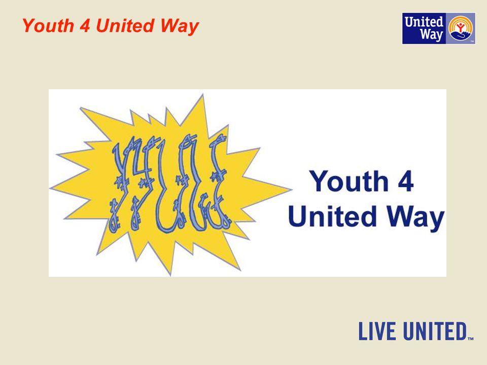 Youth 4 United Way