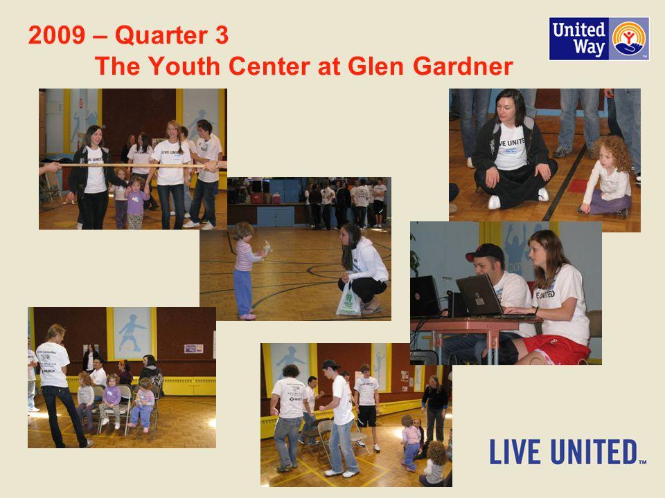 2009 – Quarter 3 The Youth Center at Glen Gardner