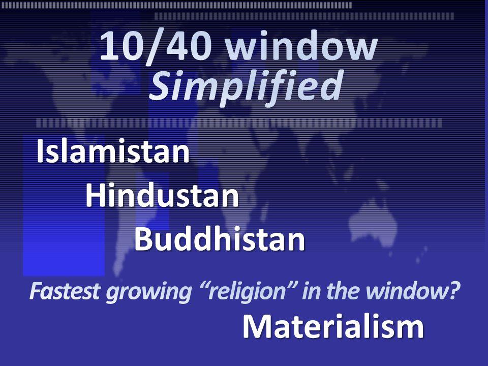 IslamistanHindustanBuddhistan Materialism