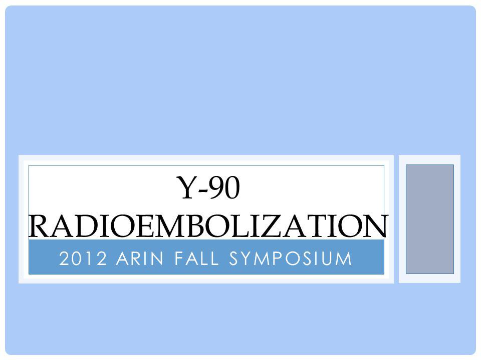 What is Yittrium-90 Radioembolization.