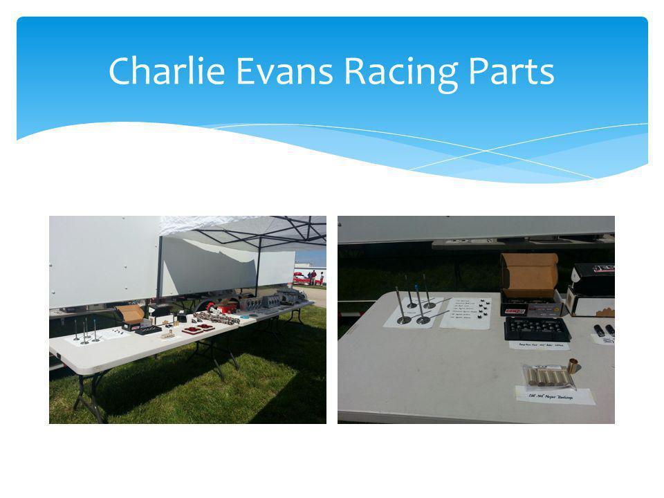 Charlie Evans Racing Parts