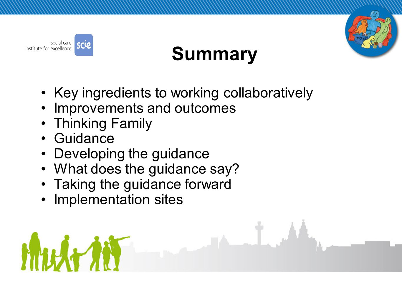 Improvements & outcomes so far… Jelly Baby Logo Culture change Increased visibility and social inclusion Improved access to support and services Improved identification and assessment More confident and supported workforce KFIM Pack New types of service provision
