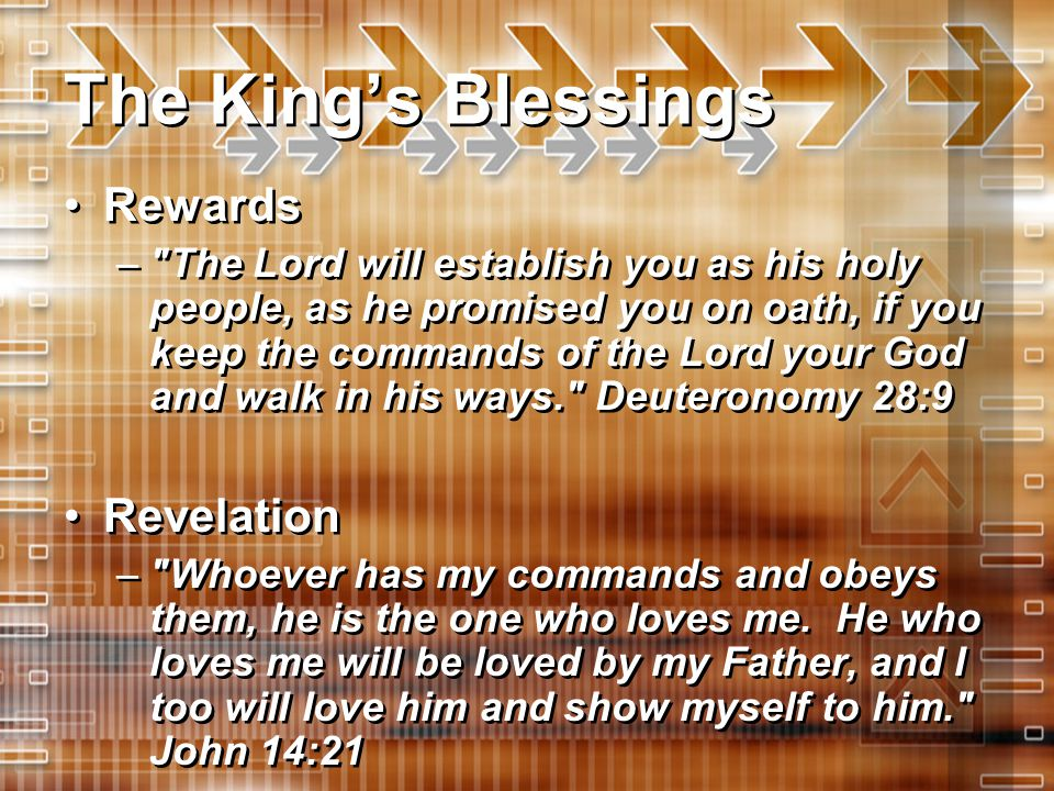 The King's Blessings Rewards –