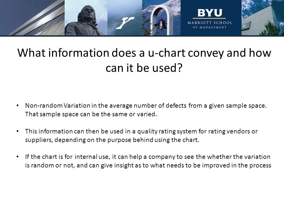 Real World Example (Conclusion) Interpretation: After reviewing the chart, Libby's managers were a bit concerned.