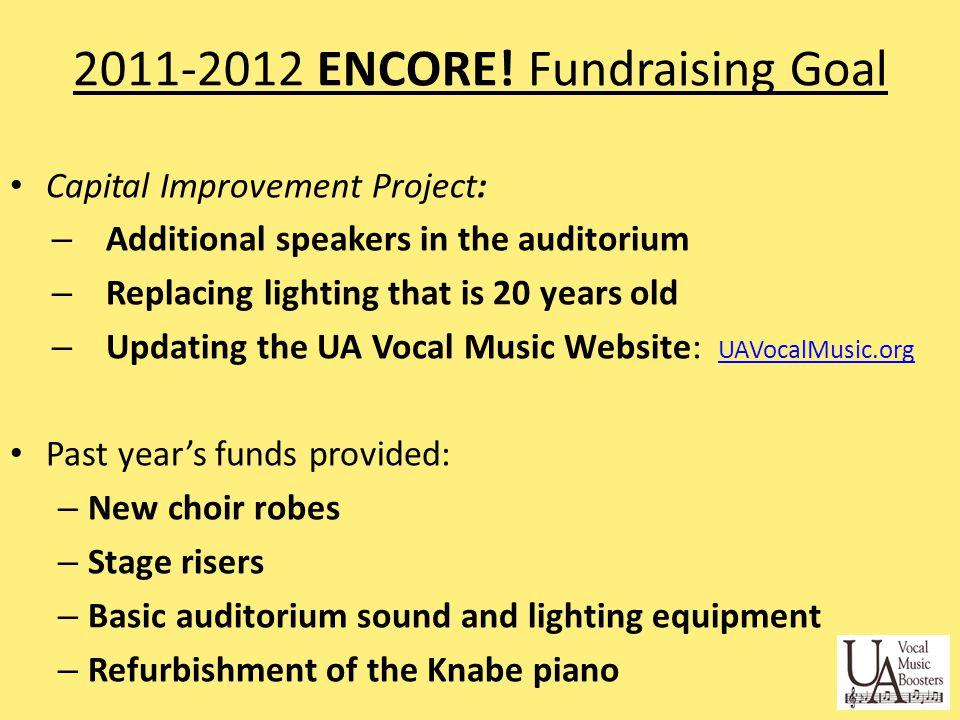 2011-2012 ENCORE.