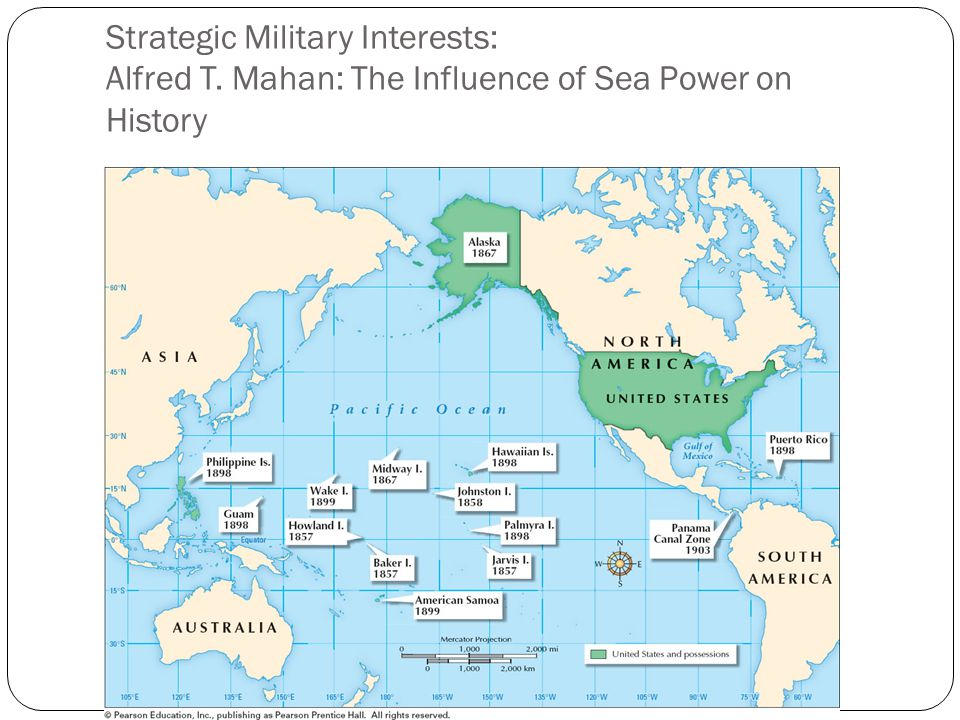Strategic Military Interests: Alfred T. Mahan: The Influence of Sea Power on History