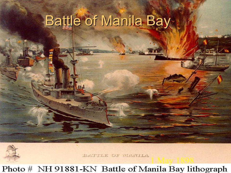 Battle of Manila Bay 1 May 1898