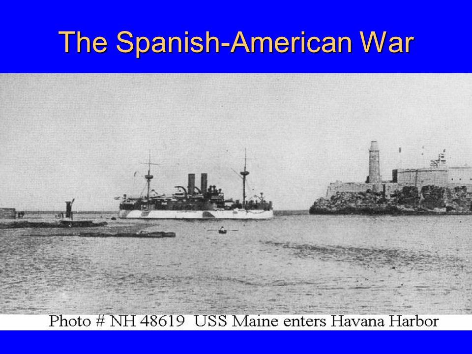 Causes Decreased isolationism in U.S.public and Congress Cuban Revolution (1895-1898): – U.S.