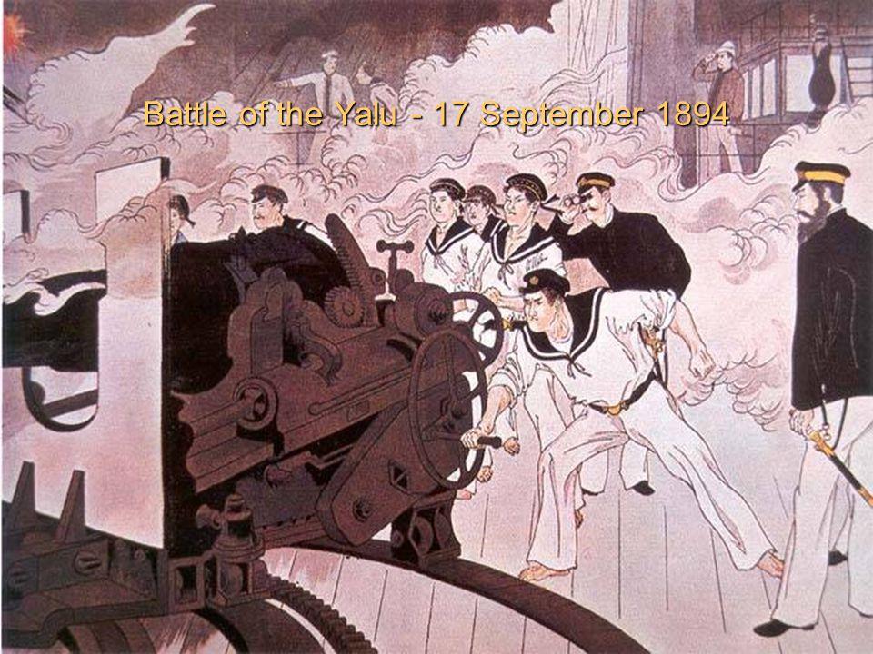 Battle of the Yalu - 17 September 1894