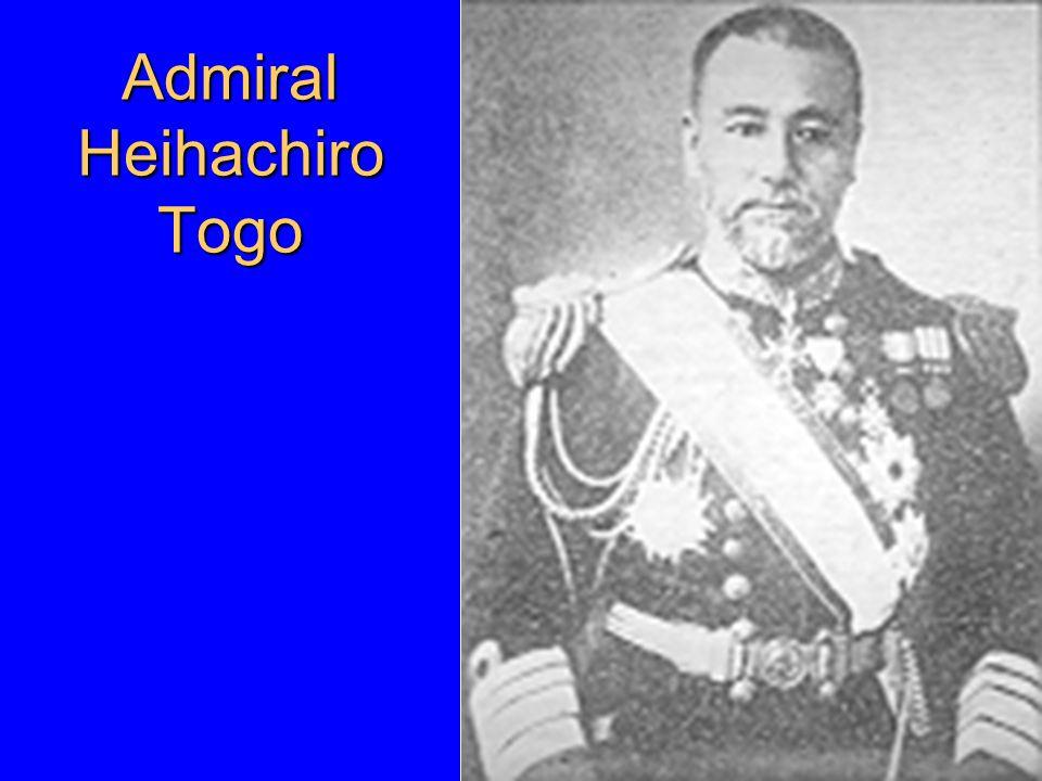 Admiral Heihachiro Togo