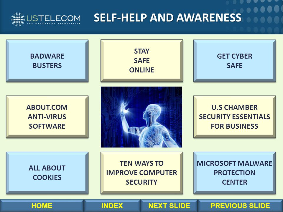 SELF-HELP AND AWARENESS SELF-HELP AND AWARENESS BADWARE BUSTERS BADWARE BUSTERS MICROSOFT MALWARE PROTECTION CENTER MICROSOFT MALWARE PROTECTION CENTE