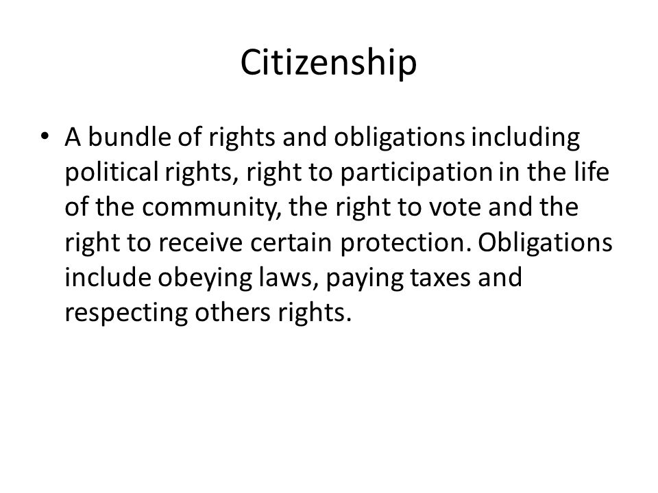 Are you proud of your citizenship?