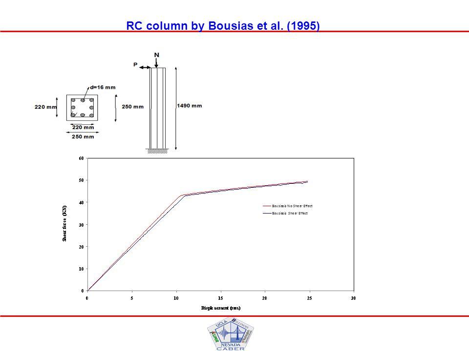RC column by Bousias et al. (1995)