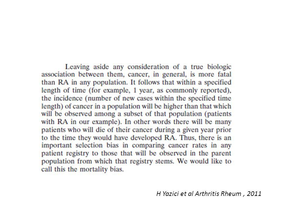 H Yazici et al Arthritis Rheum, 2011