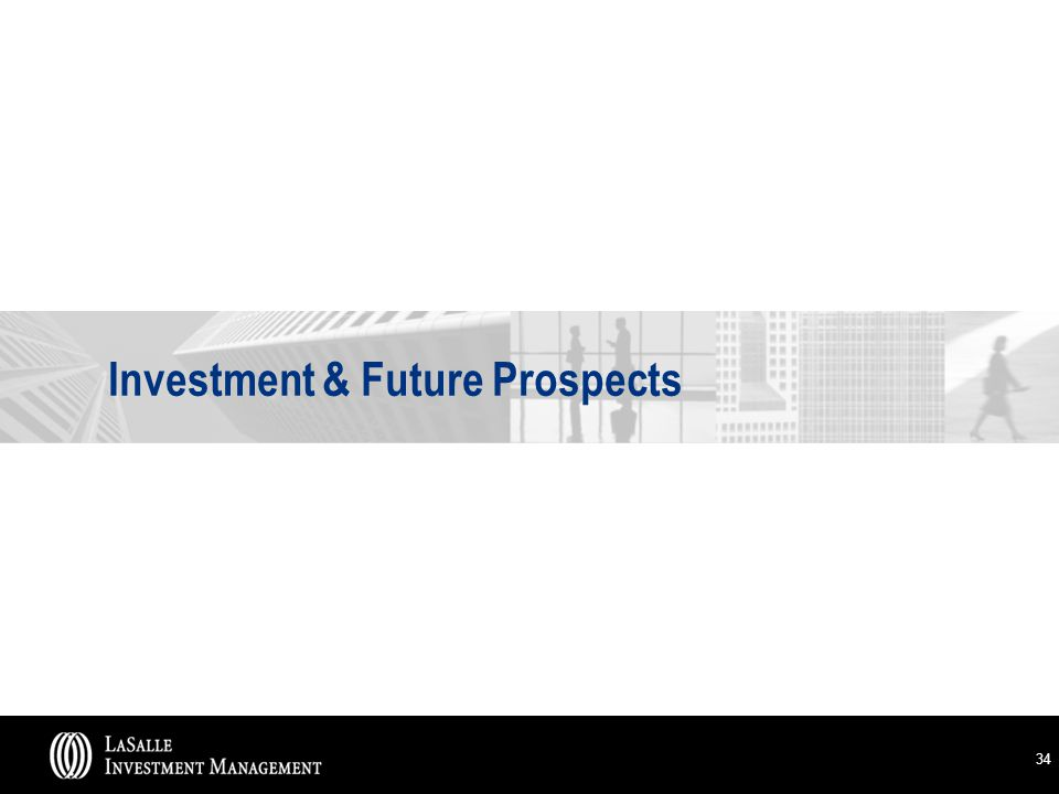 34 Investment & Future Prospects
