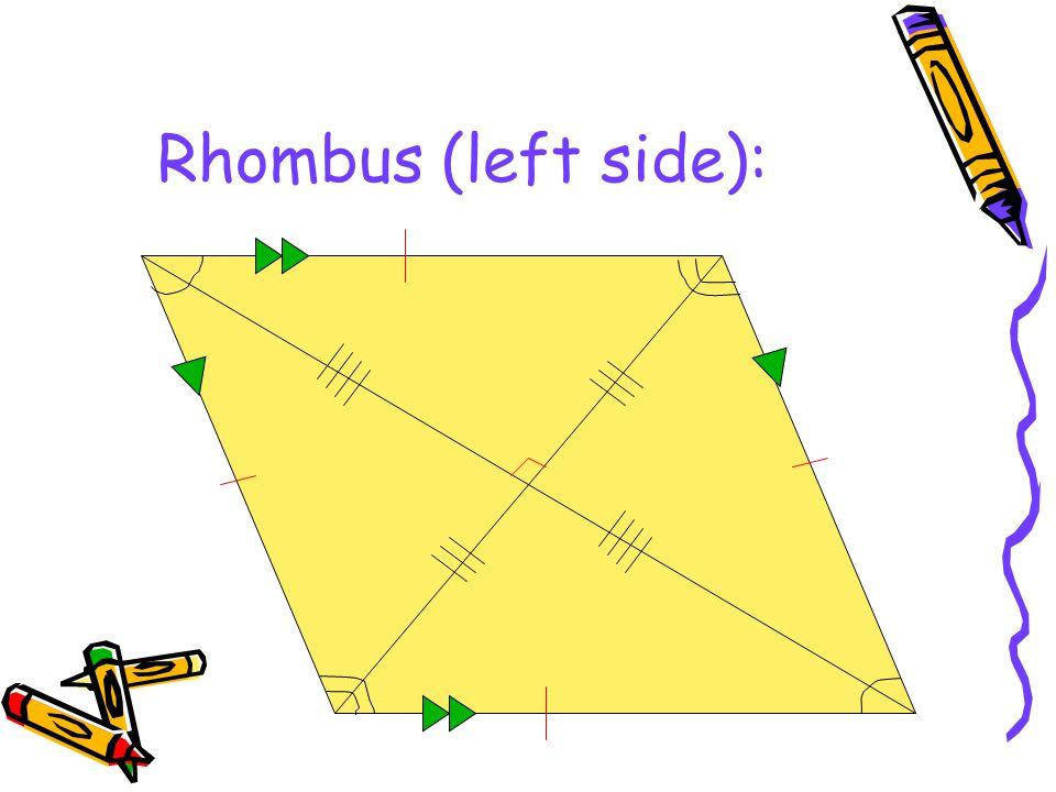Rhombus (left side):
