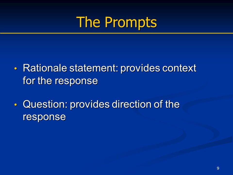 30 Extended-Response Strategies