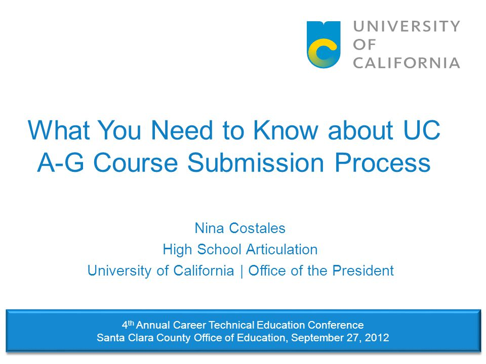 Step #5: Course List Accuracy  Errors in your course list can disadvantage prospective UC and CSU applicants.