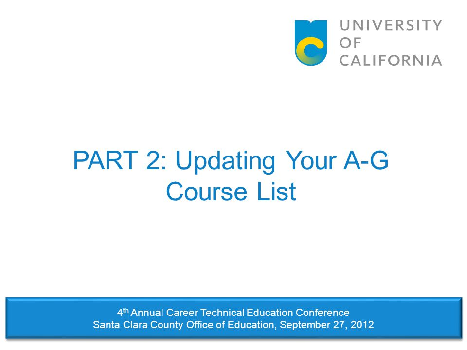 Step #3: Revise Existing Courses  Revisions are defined as changes in: –Course title –Transcript abbreviation –Course code –Schools associated with a course (districts only) –Category –Grade level –Shortening the length of a course from yearlong (1.0 unit) to semester-long (0.5 units) –Removing the UC honors status –Deleting a course 20