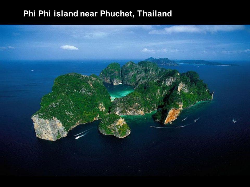 Phi Phi island near Phuchet, Thailand